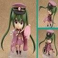 "Japan Cute 4"" Nendoroid Vocaloid Hatsune Miku Sakura Pink Set PVC Action Figure Model Collection Toy"