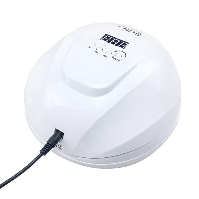 UV lampe à LED 90W SUN X7plus sèche-ongles LCD affichage sèche-cheveux lampe à ongles lampe à ongles pour polymériser Gel vernis séchage lampe à LED pour les ongles