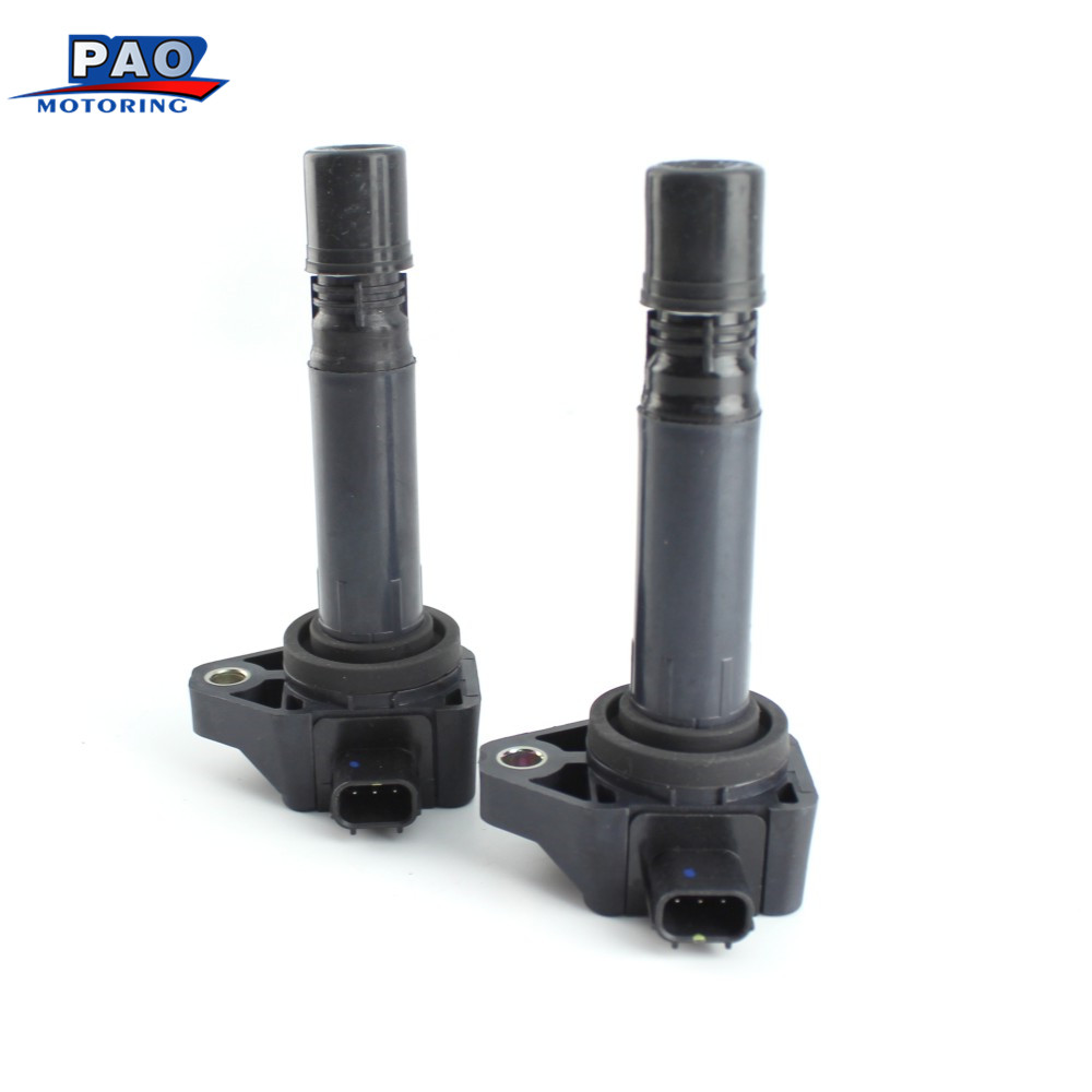 2PCS/Set Ignition Coil Fit For Honda Accord Crosstour