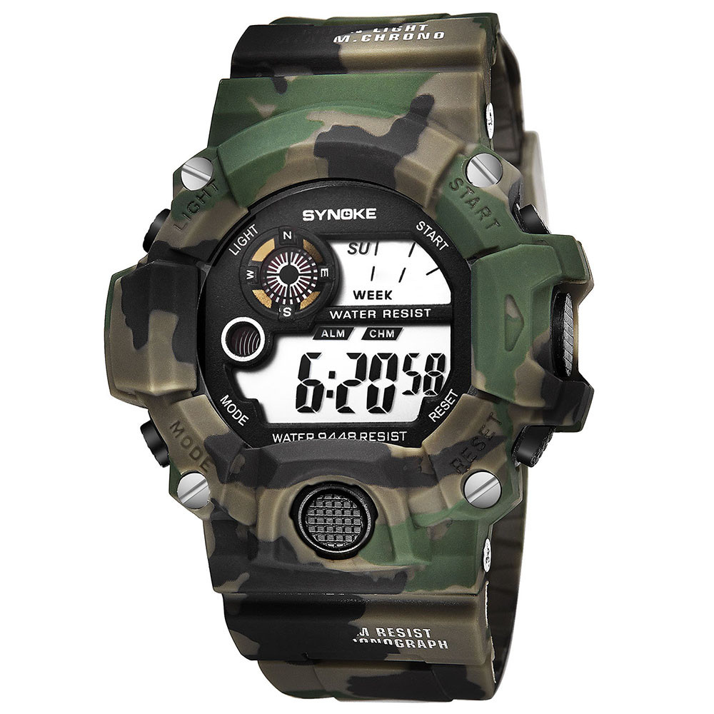 Multi-Functi Watches Waterproof Watch Boys Girls