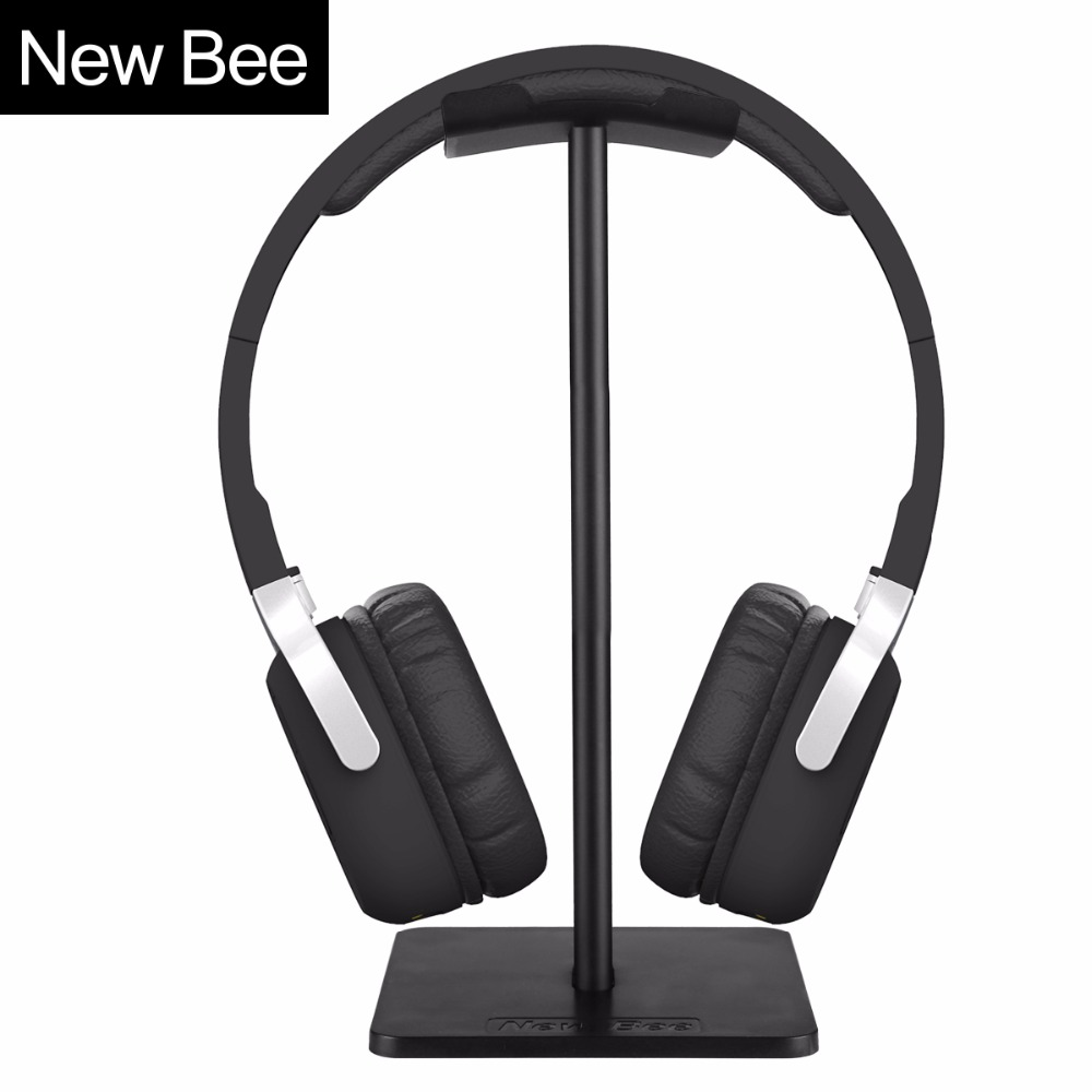 New Bee Metallic Headphone Stand Headset Holder Earphone Hanger Headph