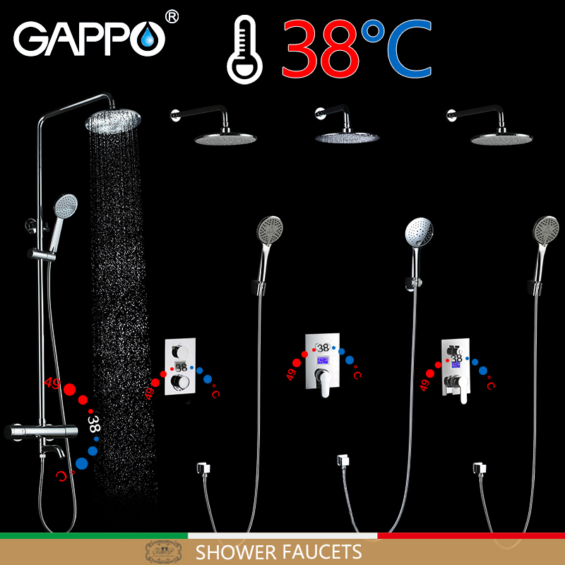GAPPO bathtub faucet waterfall bathroom faucet wall mounted mixer tap bath rainfall thermostatic bathtub faucets new original sgdm 15ada 200v servopack single 3 phase