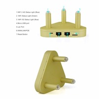 VONETS 2 4G 300Mbps 5G 450Mbps Dual Band Wifi Router WiFi Signal Booster With Wide 500Meters