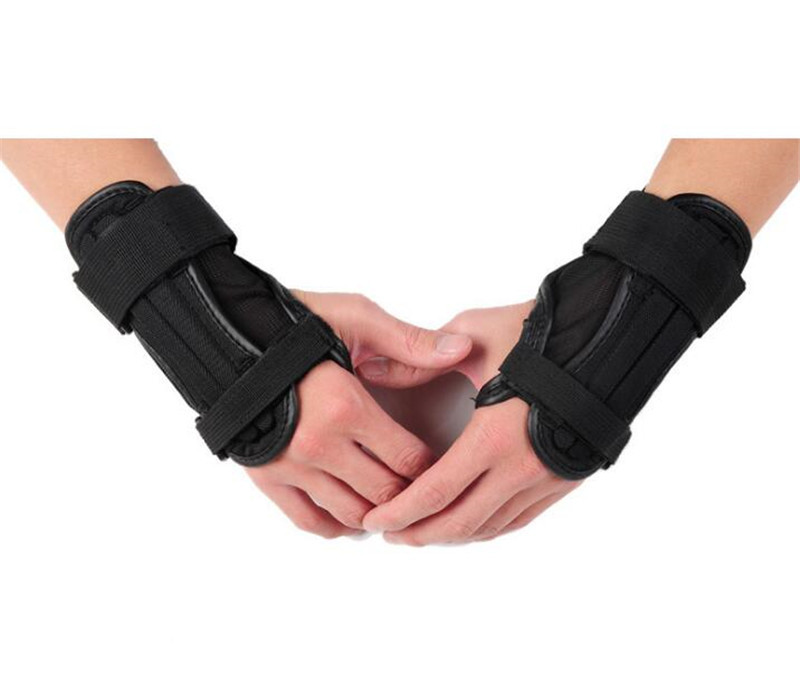 SULAITE Motorcycle Skiing Arm Guard Wrist Support Motorcycle Protective Gears Hand Guards Lycra Sports Hand EVA Protector in Motorcycle Protective Kneepad from Automobiles Motorcycles