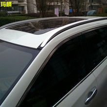 For Mazda CX-5  2012 2013 2014 2015  Silver Color Aluminum  Car Side Bars Rails Roof Rack ,2PCS Per Set
