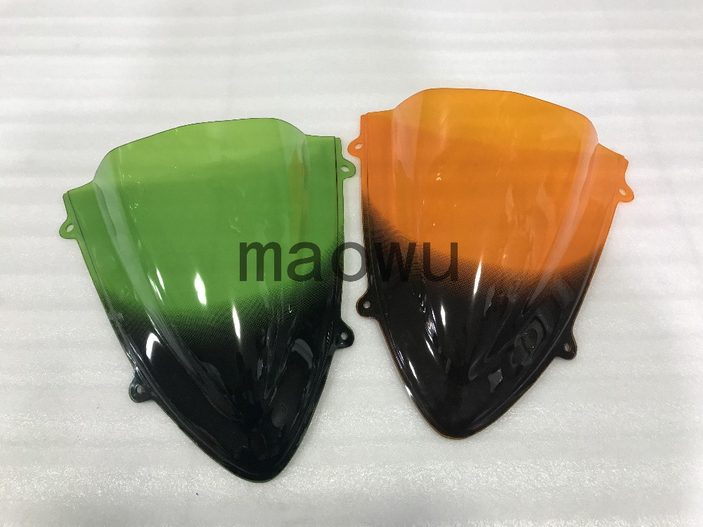 Motorcycle high quality ABS rear fender modified parts Fairing color windshield fit for Kawasaki ninja 750 2008-2012year .