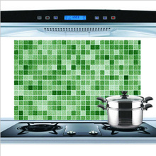 Anti-oil Wall Stickers High Temperature Anti-oil Paste Kitchen Self-adhesive Foil