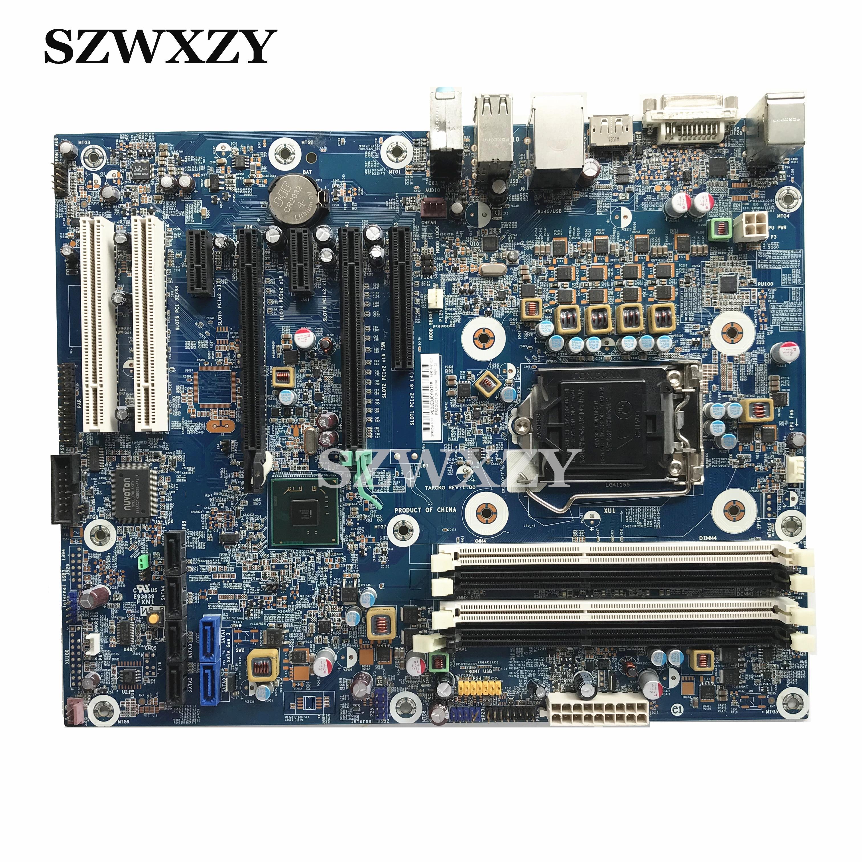 Original For HP Z210 Workstation Desktop Motherboard 615943 001 614491 002 LGA1155 Full Tested Free Shipping