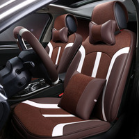 Universal Car seat cover Microfiber leather for Peugeot 309 405 406 407 408 505 508 605 607 auot accessories car seat protectors