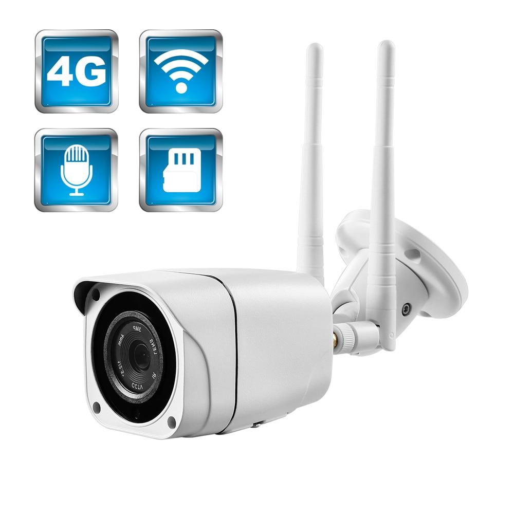BFMore 3G 4G IP Camera Audio Wireless 1080P 2MP H 264 Sony CCTV Cam Outdoor TF