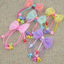 2 шт./партия, яркие цвета, детские мини-заколки для волос с маленьким бантом, безопасные заколки для волос, заколки для детей, девочек, детские аксессуары для волос