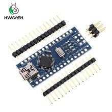 5 ADET MINI USB Nano V3.0 ATmega328P denetleyici uyumlu arduino nano için CH340 USB sürücü NANO 3.0