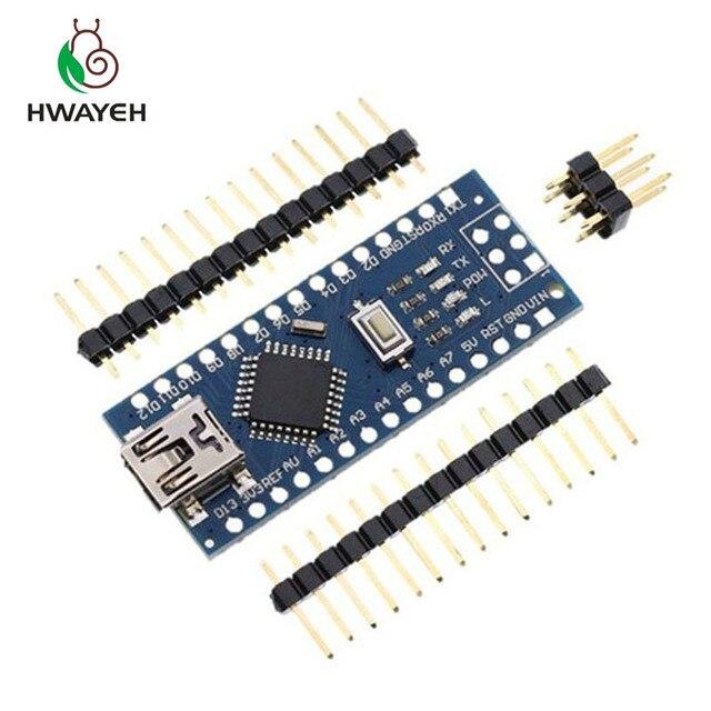 5PCS MINI USB Nano V3.0 ATmega328P controller compatible for arduino nano CH340 USB driver NANO 3.0