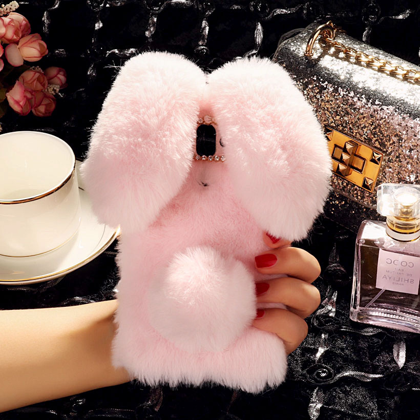 Image 3 - Rabbit Fur Cases For ZTE Blade A910 A610 A602 A601 A530 A606 A522 A520 A511 A515 A510 A330 A310 A462 Plus BV0730 BA910 Case Bags-in Fitted Cases from Cellphones & Telecommunications