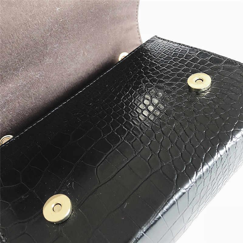 Túi đối với Phụ Nữ Tassel PU Leather Messenger Ly Hợp Túi Xách 2019 Thiết Kế Sang Trọng Thời Trang Tua Chuỗi Nhỏ Vai Túi #40
