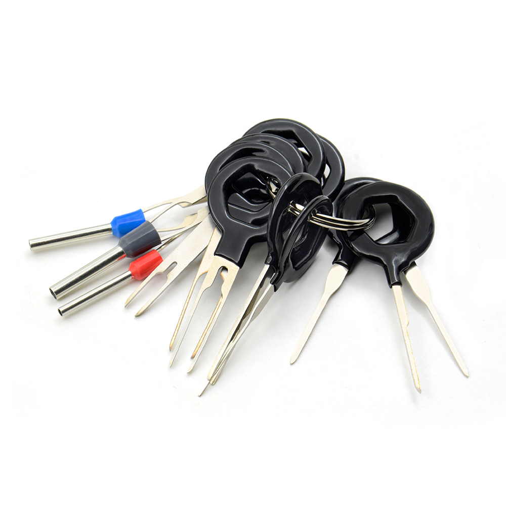 2018 11 Pcs Auto Car Plug Circuit Board Wire Harness Terminal Wiring Extraction Pick Connector Crimp Pin Back Needle Remove Tool Set On Alibaba