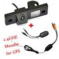 2.4 ГГц Wilress Видеокамера заднего хода Для GPS Навигатор Беспроводной Автомобиля Резервную Камера Заднего вида Для Chevrolet Cruze EPICA CAPTIVA