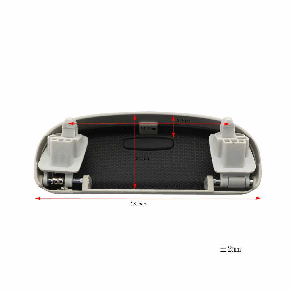 Warna Hidup Saya Mobil Kacamata Hitam Pemegang Kotak Matahari Kacamata Penyimpanan Case untuk Volkswagen VW Tiguan 2017 2018 Passat B8 Touran 2016-2018