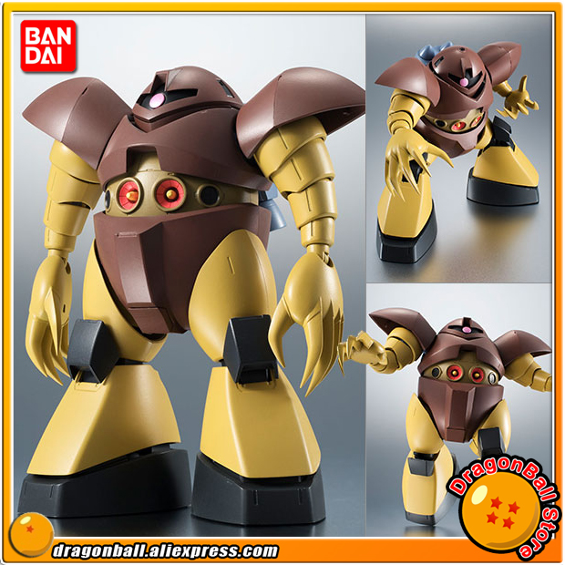 Anime Mobile Suit Gundam Original BANDAI Tamashii Nations Robot Spirits No. 217 Action Figure - MSM-03 Gogg ver. A.N.I.M.E. original bandai tamashii nations robot spirits exclusive action figure rick dom char s custom model ver a n i m e gundam