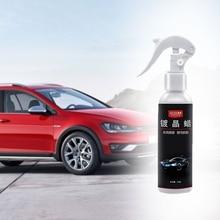 Hot New 1 Set 120ml Hydrophobic Auto Car Wax Liquid Glass Ceramic Coating Polish Paint Auto Tools High Quality