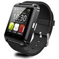 ГОРЯЧАЯ Bluetooth U8 Смарт Наручные Часы Спорт Здоровье Цифровой U Smartwatch Для Android/iOS/Iphone/Samsung/HTC/Xiaomi Черный Белый Красный