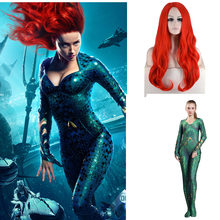 New Movie Aquaman Cosplay Costume Superhero Mera Queen Zenta