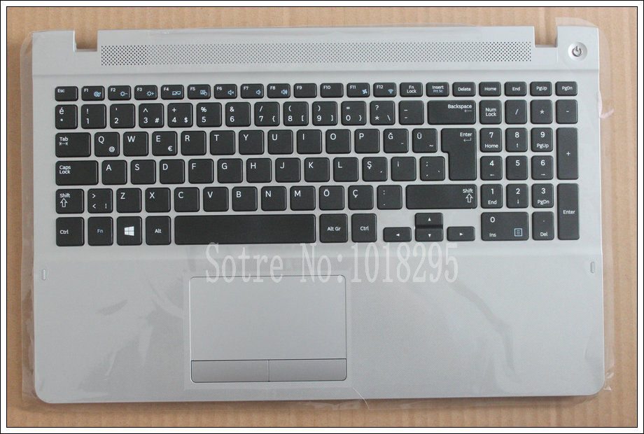 Turkey Keyboard for Samsung 370R5E 450R5V NP370R5E NP370R5V NP450R5E NP450R5V TR keyboard With a shell