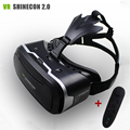 "VR Shinecon II 2.0 Helmet Virtual Reality Glasses Mobile Phone 3D Video Movie for 4.7-6.0"" phone + Remote Controller"