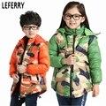 Novo Inverno Crianças Jaquetas para Os Meninos e Meninas Casacos de Inverno Snowsuit Jaqueta de Inverno Menino Para Baixo Casacos parka das crianças snowsuit