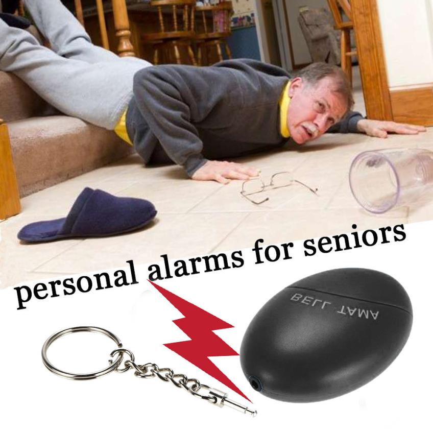 Anti-rape Device Alarm Loud Alert Attack Panic Keychain Safety Personal Security MAY31