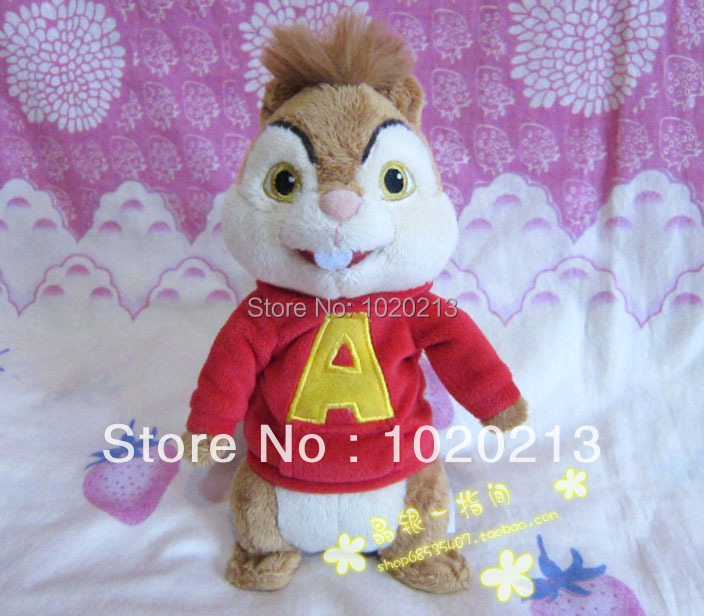 product alvin and the chipmunks plush soft doll 25cm Alvin Theodore Simon brittany eleanor
