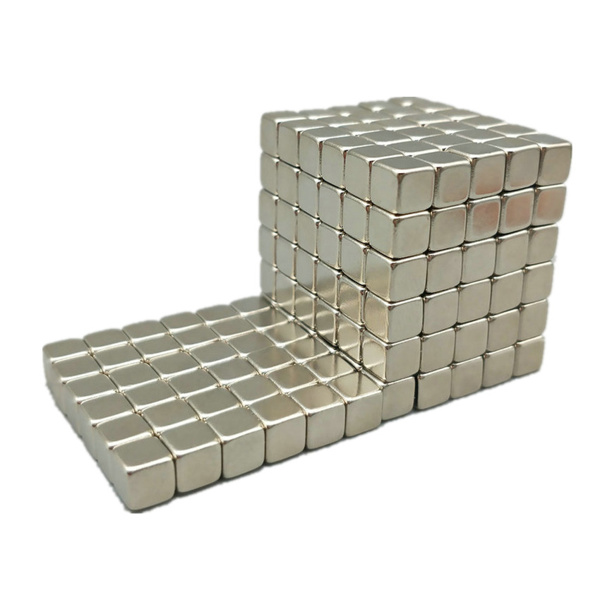 216 Pcs N42 Block Dia 5x5x5 Mm NdFeB Magnet Cube Magic Toy Gift Box Neodymium Magnets