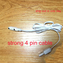 cheapest smart watch Backup 4pin magnetic charge strong charging Charger Cable for kw88 kw99 kw06 kw98 q100 q750 kw18 y3 h1 h2(China)