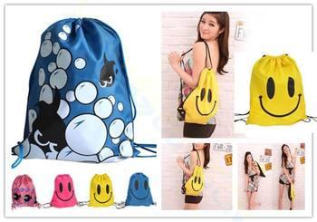 Waterproof Baby Kids smiley beach swimming Props Swim bag outdoor Storage package Bag Cartoon Carrier Bag Toy Bundle bag 1