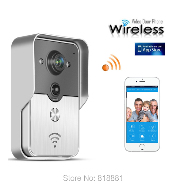 Front Door Security Camera Iphone: Hot Wireless 3G Wifi Doorbell Camera IP Video Door Phone