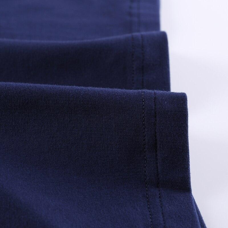 2018 Nouvelle Solide 5xl Longues T Coton Mode Marque De 1 Manches 2 6xl Couleur À 10xl 8xl Vêtements T Hommes shirt Chemises Loose Fit Casual xv6qtEI
