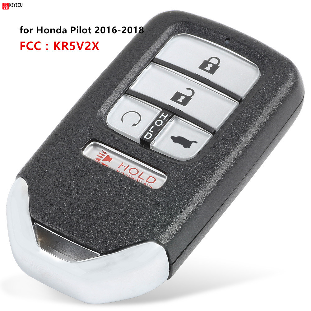 🛒 4+1/5 Button Remote Key 433MHz ID47 Chip SUV Tail Button