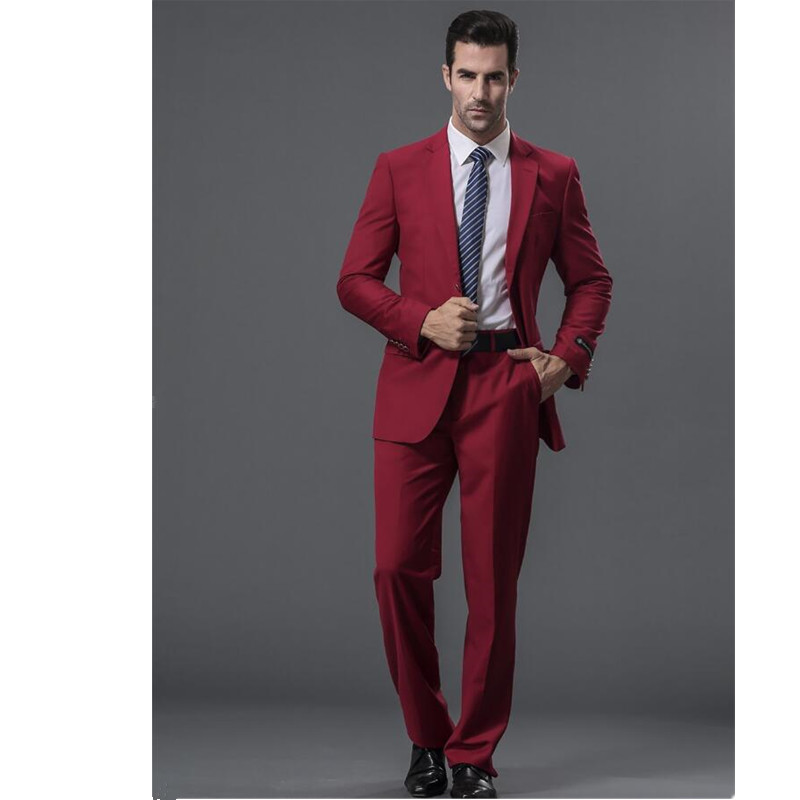 New-men-s-suits-Formal-occasions-men-suit-high-quality-wine-red-collar-single-breasted-wedding (3)
