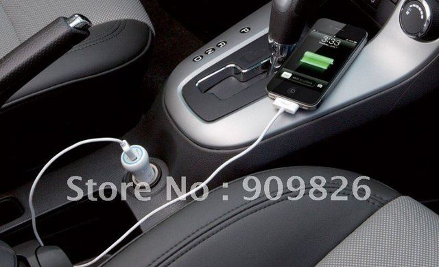 MiLi Smart (HC-C60) Mini car charger for iPad, iPhone, Smartphones + free shipping