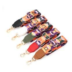 3,8 см в ширину нейлон ремень для Для женщин сумка на плечо ремни регулируемый ремень для плеча Crossbody ремешок для сумки аксессуары KZ151363