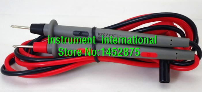 US $10 48 |TL71 Hard Point Test Leads \ Digital Meter Probes TL 71 for  FLUKE 233 28II 87V 88V 187 189 287 289-in Instrument Parts & Accessories  from