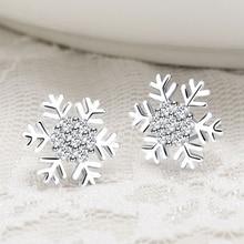 Здесь можно купить  1 Set European Fashion Diy Snowflake Style Women Earring Fit Women Party Earrings HER007