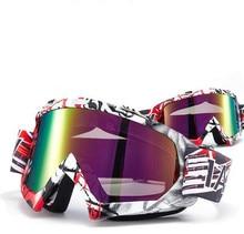f3c5fdbaed Hot Motorcycle Ski Motocross Goggles Anti-distortion DustProof Goggles Anti  Wind Eyewear Goggles ATV Off