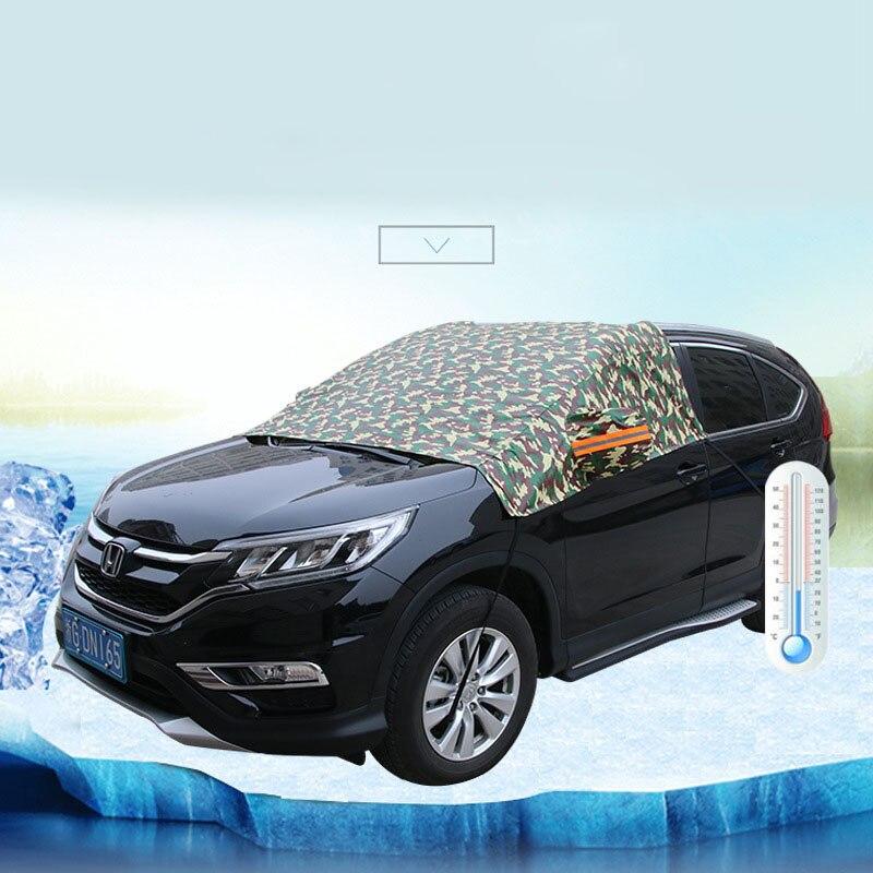 Aluminum Car Cover : Chiziyo aluminum half car cover waterproof sun