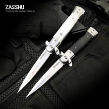 ZASHHU Hunting Knife CS GO Tactical Claw Neck Knife Camp Hike Outdoor Self Defense Offensive Hunting Survival Tools Knife цена 2017