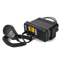 Бесплатная доставка мобильный УКВ морской Радио Водонепроницаемый ip x7 с внешними GPS приемник