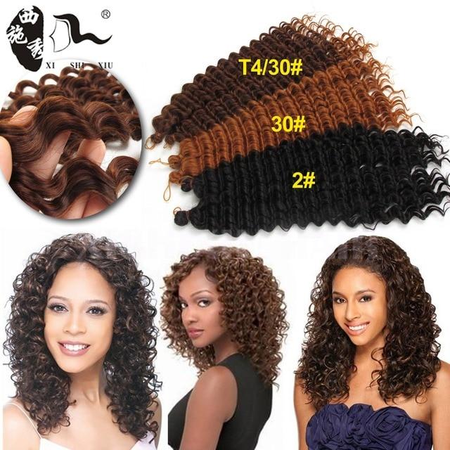 2016 New African Hair Style FreeTress Synthetic Braids 3X Pre Loop Crochet Braid Deep