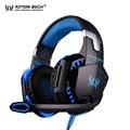 Kotion each g2000 pc gamer gamer gaming headset auriculares fone de ouvido auriculares auriculares auriculares con micrófono led