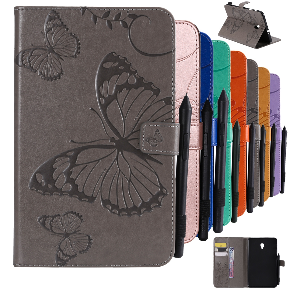 Original Bags For Samsung Galaxy Tab A2 S 8.0 T385 8.0 Inch Tablet Case Leather Flip Wallet Shell For Samsung Galaxy T380 Cover