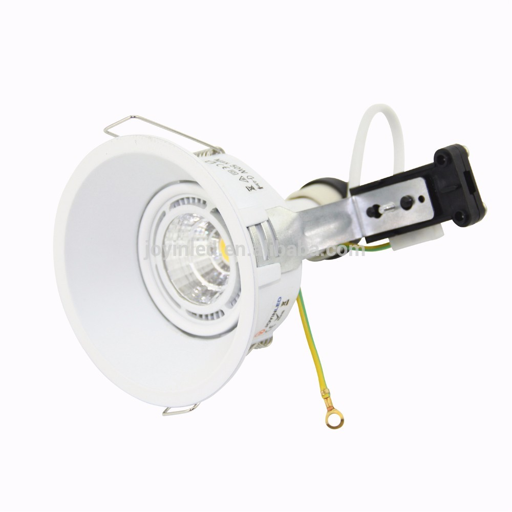 Led Ceiling Spotlight Fixtures: Fire Rated Square Led Ceiling Light Fixture Recessed Light